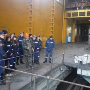 Майбутні пожежники пройшли практичні навчання на Черкаській ТЕЦ
