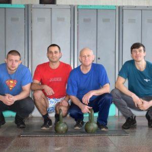 На Черкаській ТЕЦ змагалися в гирьовому спорті