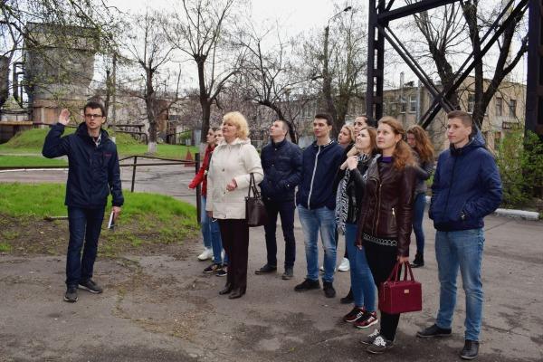 Практичні заняття з «Екології» студенти державного технологічного університету провели на Черкаській ТЕЦ