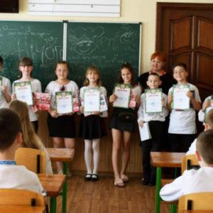 Представники Черкаської ТЕЦ привітали школярів зі святом Останнього дзвоника