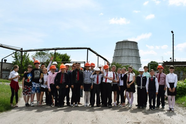 На Черкаській ТЕЦ провели екскурсію для майбутніх енергетиків