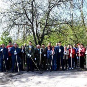 Адміністрація Черкаської ТЕЦ провела весняний суботник