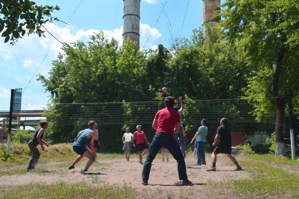 На Черкаській ТЕЦ завершилися змагання з волейболу