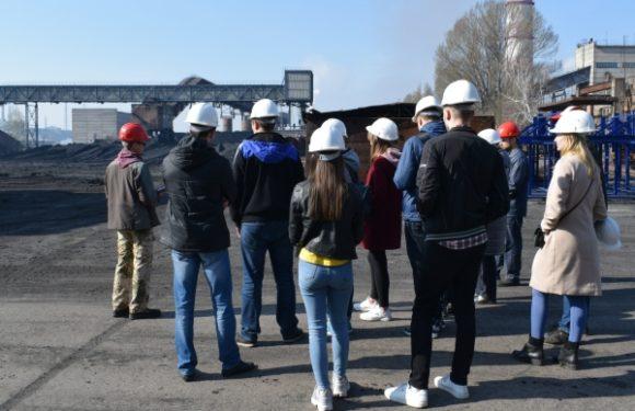 Студенти-екологи провели практичні заняття на Черкаській ТЕЦ