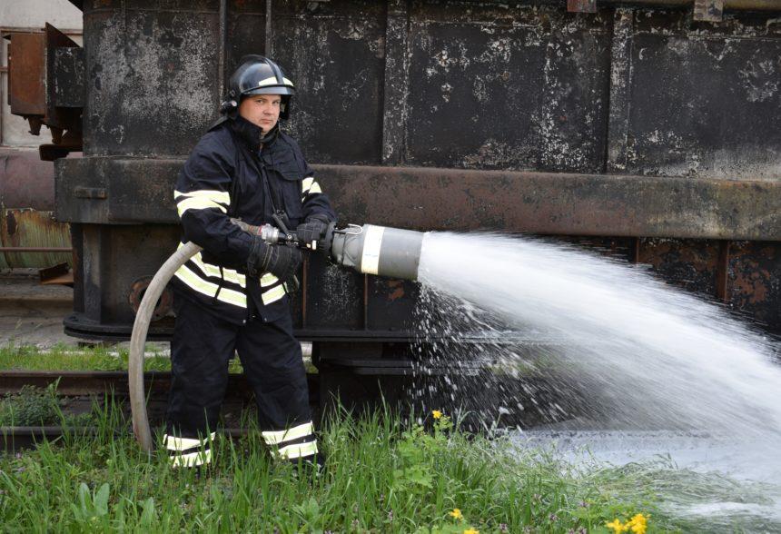 На Черкаській ТЕЦ провели протипожежні навчання