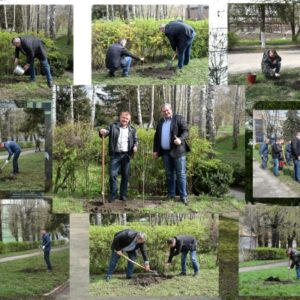 На Черкаській ТЕЦ долучилися до Всеукраїнської акції «Посади своє дерево»