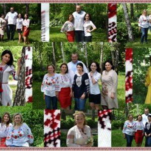 На Черкаській ТЕЦ одягли українські вишиванки