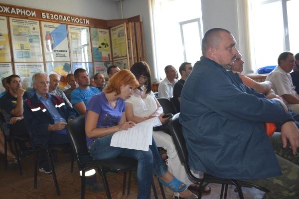На Черкаській ТЕЦ відбулися навчання з пожежної безпеки