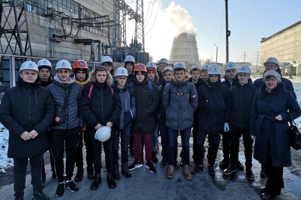 Практика для майбутніх електриків на Черкаській ТЕЦ