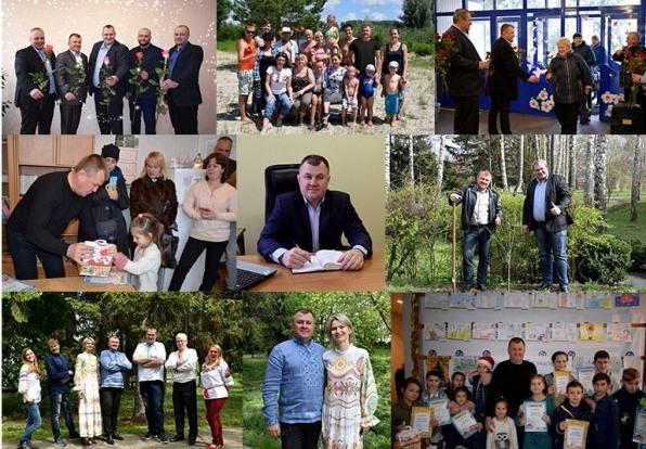 Вітаємо з Днем народження голову правління Віктора Олексенка!
