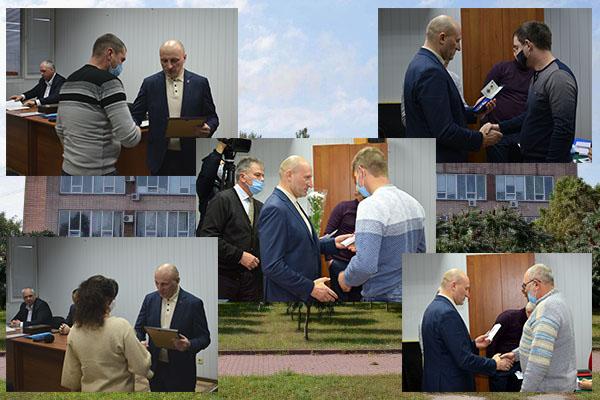 Анатолій Бондаренко привітав енергетиків із професійним святом