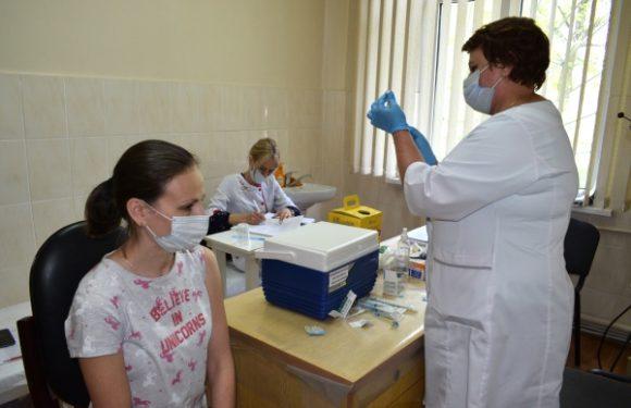На Черкаській ТЕЦ провели щеплення працівників від Covid-19