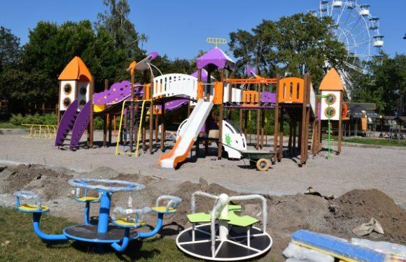 Місто отримає два нові дитячі ігрові комплекси від ПРАТ «Черкаське хімволокно»